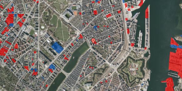 Jordforureningskort på Østerbrogade 44, 5. tv, 2100 København Ø