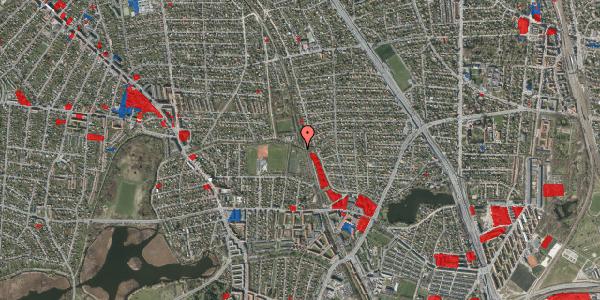 Jordforureningskort på Rødhalsgangen 18, 2400 København NV