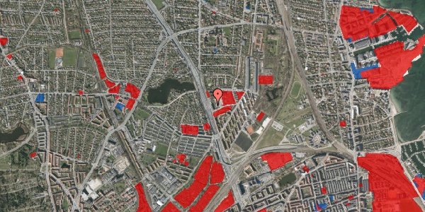 Jordforureningskort på Gartnerivej 1B, 2100 København Ø