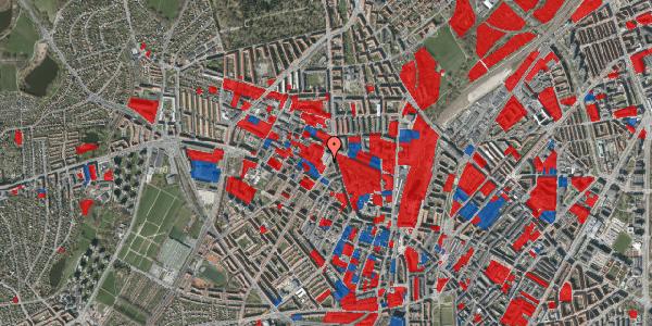 Jordforureningskort på Glasvej 25, 2. tv, 2400 København NV
