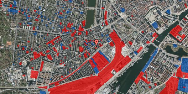Jordforureningskort på Istedgade 29A, 1. th, 1650 København V