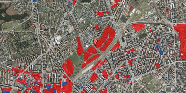 Jordforureningskort på Lersø Parkallé 93, 2100 København Ø