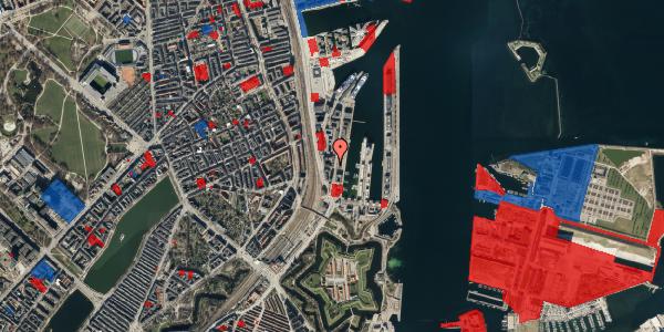 Jordforureningskort på Amerika Plads 3D, st. , 2100 København Ø