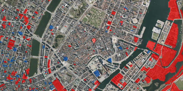 Jordforureningskort på Valkendorfsgade 13A, 1. , 1151 København K