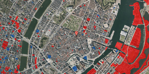 Jordforureningskort på Møntergade 16A, 1116 København K