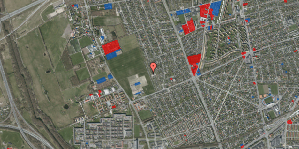 Jordforureningskort på Hf. Dahlia 80, 2650 Hvidovre