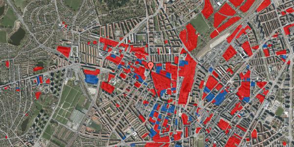 Jordforureningskort på Glasvej 29, 4. th, 2400 København NV