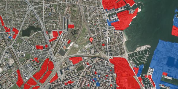 Jordforureningskort på Svanemøllens Kaserne 75B, 2100 København Ø