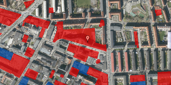 Jordforureningskort på Dortheavej 2B, 4. th, 2400 København NV