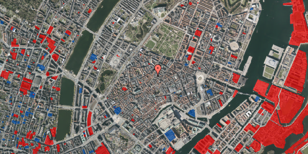 Jordforureningskort på Købmagergade 47, 2. mf, 1150 København K