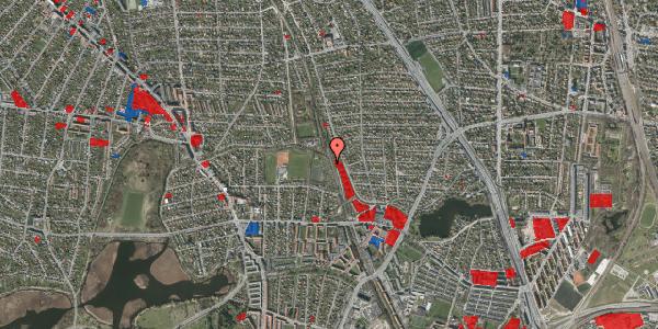 Jordforureningskort på Rødhalsgangen 13, 2400 København NV