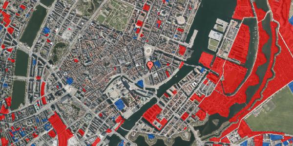 Jordforureningskort på Holmens Kanal 12, 1060 København K