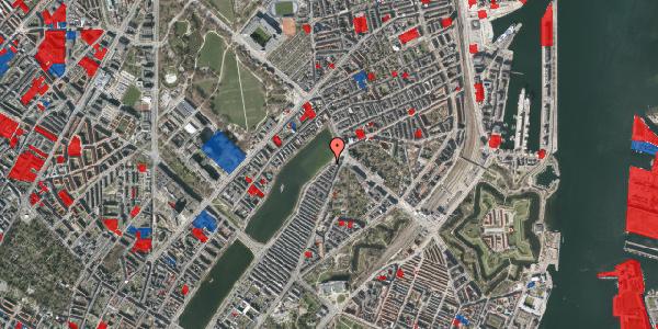 Jordforureningskort på Øster Søgade 107, 2100 København Ø