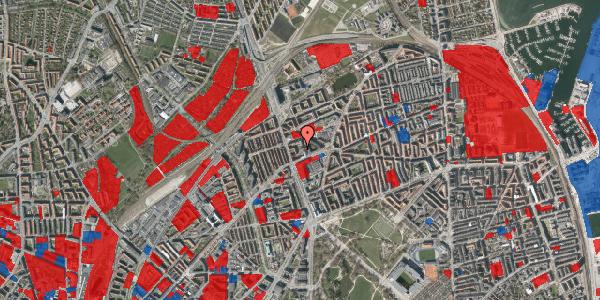 Jordforureningskort på Kristineberg 3B, 3. , 2100 København Ø