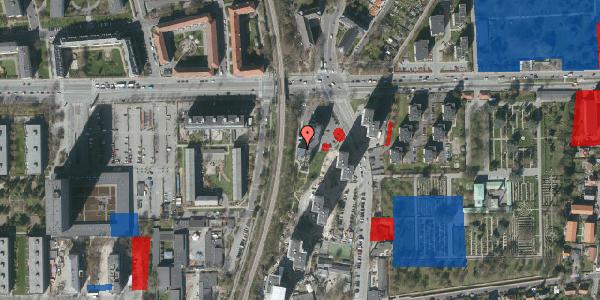 Jordforureningskort på Borgmester Fischers Vej 2C, st. , 2000 Frederiksberg