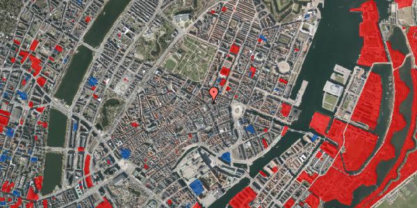 Jordforureningskort på Gammel Mønt 4, 1117 København K