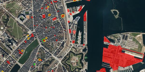 Jordforureningskort på Amerika Plads 3C, 5. , 2100 København Ø