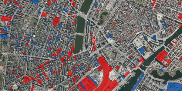 Jordforureningskort på Vester Farimagsgade 7, 6. th, 1606 København V