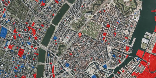 Jordforureningskort på Rosenborggade 1B, 1. , 1130 København K