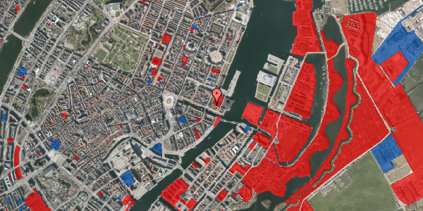 Jordforureningskort på Nyhavn 53B, 2. a, 1051 København K