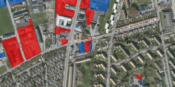 Jordforureningskort på Bibliotekvej 49, 2650 Hvidovre
