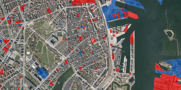 Jordforureningskort på Rosenvængets Hovedvej 33, kl. , 2100 København Ø