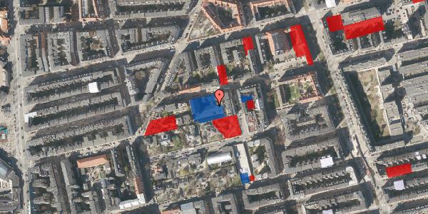 Jordforureningskort på Viborggade 70E, st. , 2100 København Ø