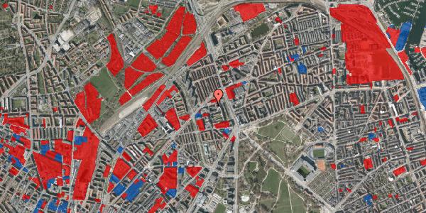 Jordforureningskort på Ragnagade 9, 1. 1, 2100 København Ø