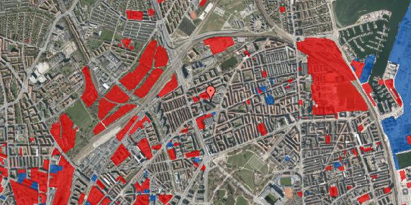 Jordforureningskort på Æbeløgade 7, 2100 København Ø