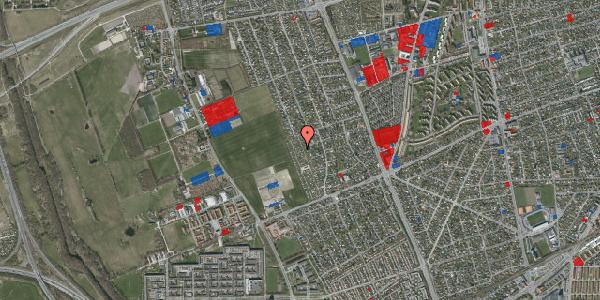 Jordforureningskort på Hf. Dahlia 43, 2650 Hvidovre