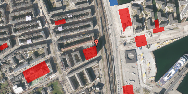 Jordforureningskort på Østbanegade 103A, 2100 København Ø