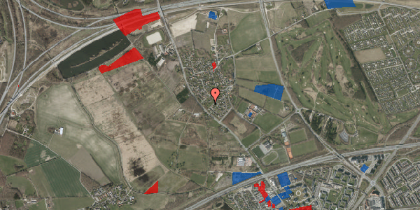 Jordforureningskort på Møllestensvej 21, 2625 Vallensbæk