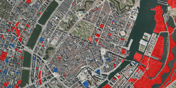 Jordforureningskort på Christian IX's Gade 7, 3. , 1111 København K