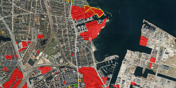 Jordforureningskort på Strandpromenaden 69, 2100 København Ø