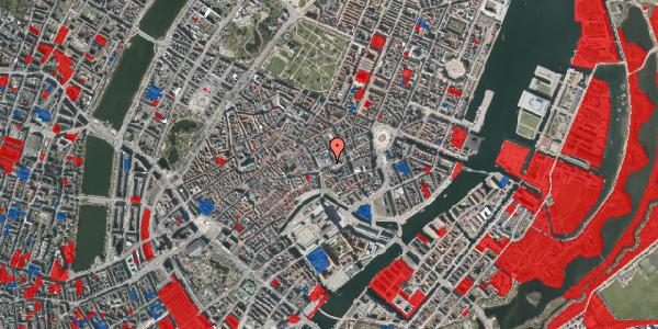 Jordforureningskort på Østergade 52, 3. , 1100 København K