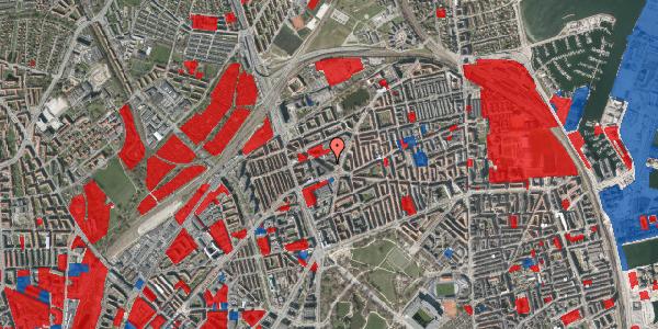Jordforureningskort på Æbeløgade 4, 2100 København Ø