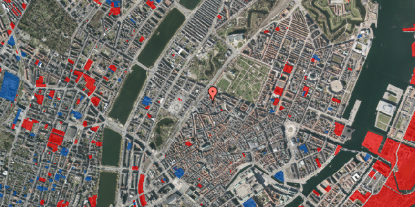 Jordforureningskort på Rosenborggade 1B, st. , 1130 København K