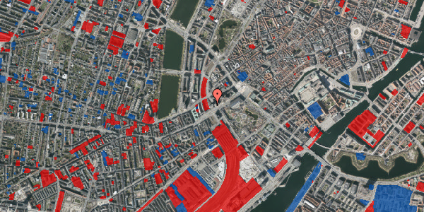 Jordforureningskort på Hammerichsgade 1, 13. , 1611 København V