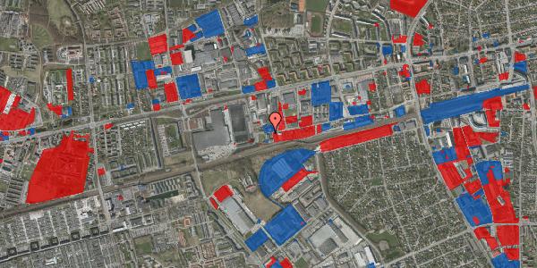 Jordforureningskort på Sydvestvej 129, 2600 Glostrup