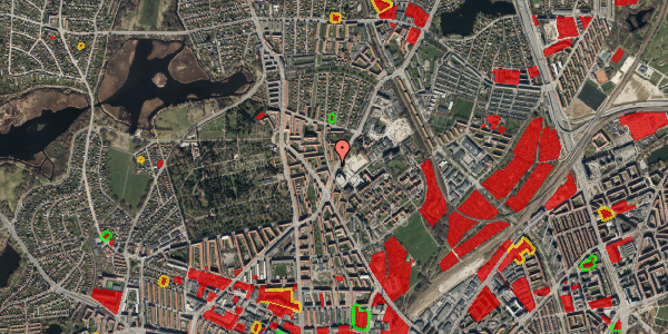 Jordforureningskort på Peter Rørdams Vej 2F, 2400 København NV