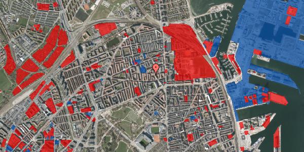 Jordforureningskort på Reersøgade 15B, 2100 København Ø