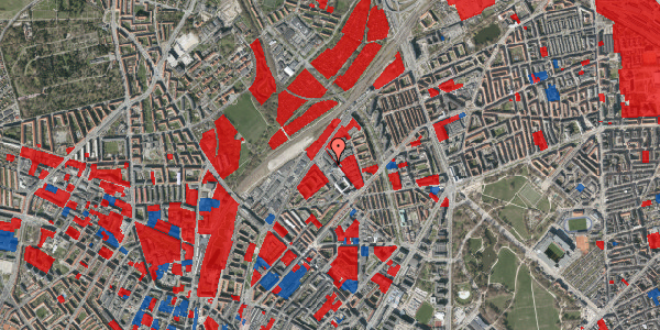 Jordforureningskort på Vermundsgade 40, 3. th, 2100 København Ø