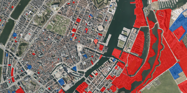 Jordforureningskort på Nyhavn 31E, 3. 3, 1051 København K