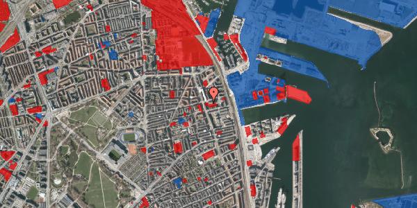 Jordforureningskort på Århusgade 102, 4. , 2100 København Ø
