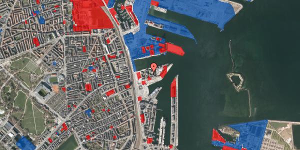 Jordforureningskort på Marmorvej 25, 1. th, 2100 København Ø