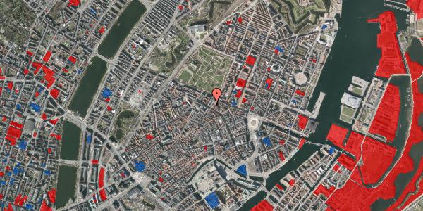 Jordforureningskort på Møntergade 17, 1116 København K