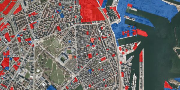 Jordforureningskort på Viborggade 48, 1. th, 2100 København Ø