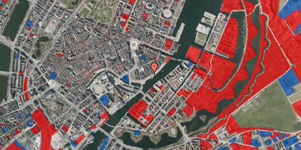 Jordforureningskort på Havnegade 31, 3. tv, 1058 København K