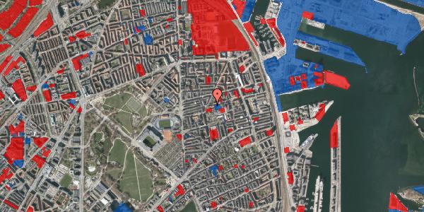 Jordforureningskort på Viborggade 44, st. tv, 2100 København Ø