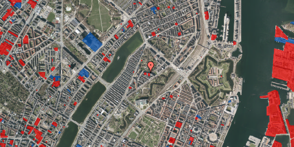 Jordforureningskort på Upsalagade 20A, 5. th, 2100 København Ø